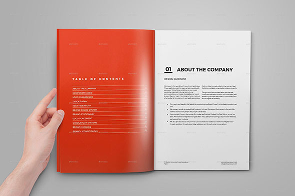 25 Best Brand Guideline Design Templates Web Graphic Design