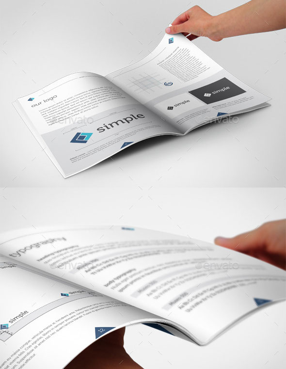 Simple Brand Book A4