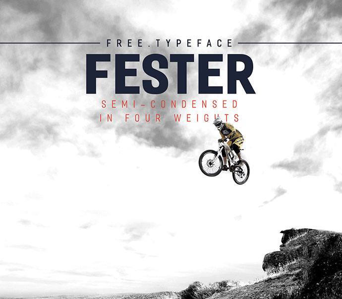 FESTER Free Typeface