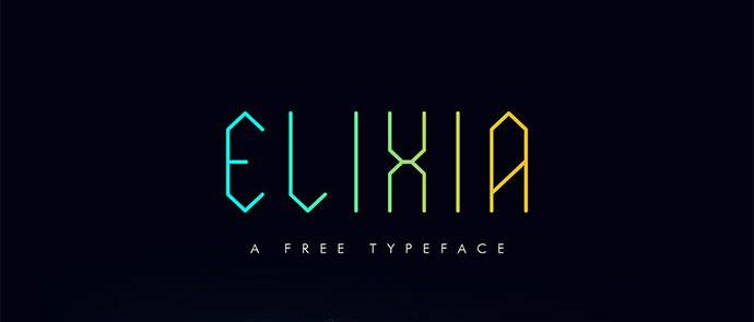 ELIXIA Free Font