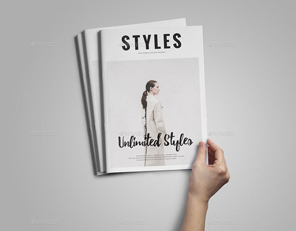 Style Magazine Template