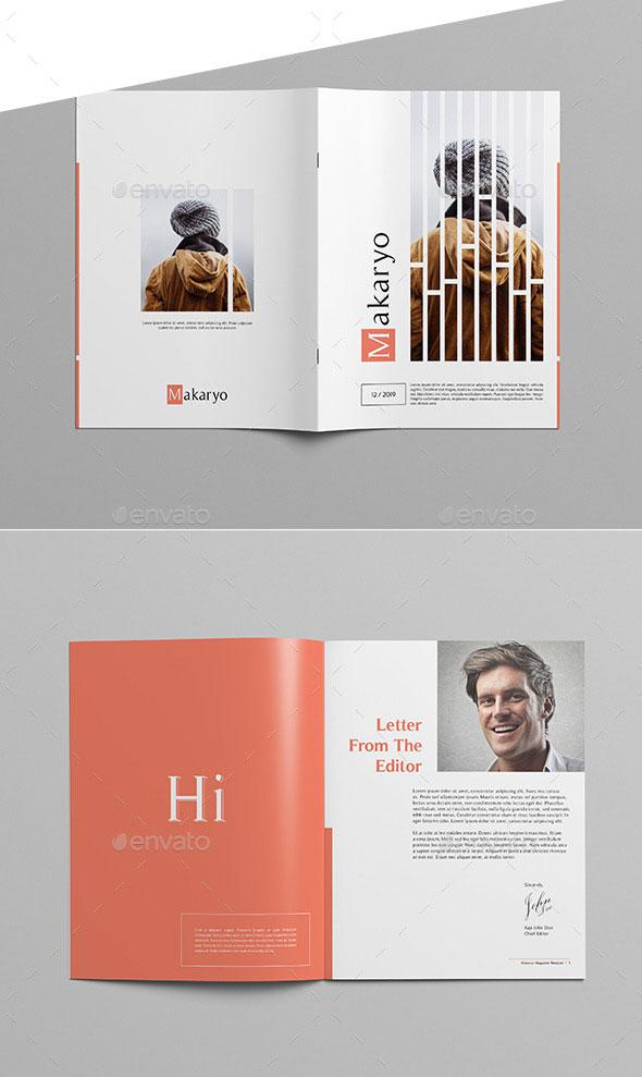Makaryo - Clean Magazine Template