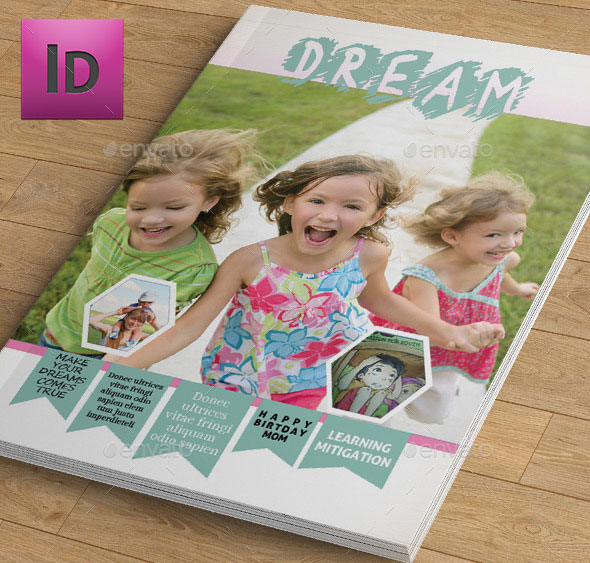 Kids Magazine Template