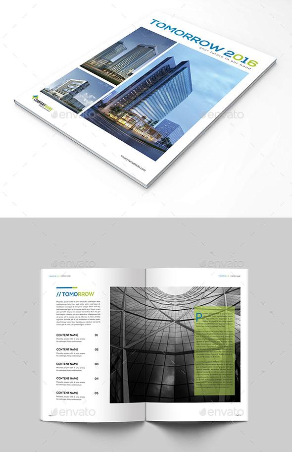 Architectural Magazine Tomorrow 2016