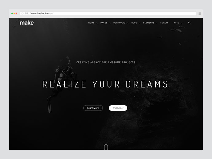 Make Responsive Multipurpose WordPress Theme