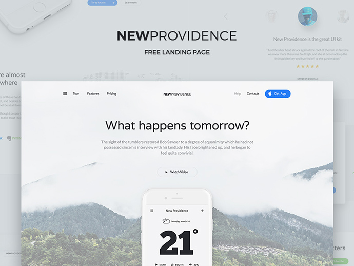 New Providence Free PSD Landing