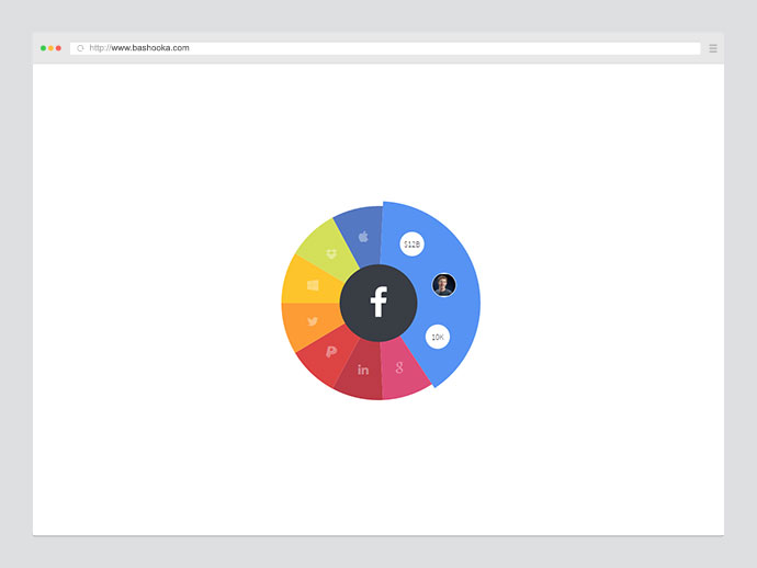 Infographic Pie (SVG based)