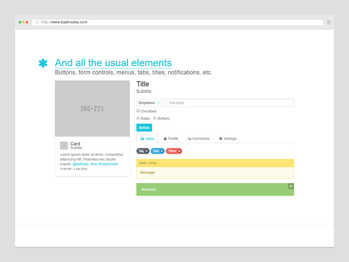 20 examples of ui components built using css flexbox web graphic
