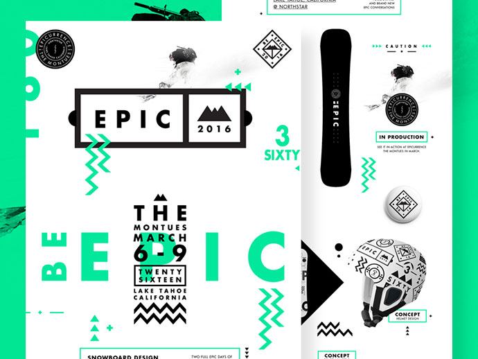 Be Epic. Presentation Deck by  Studio–JQ