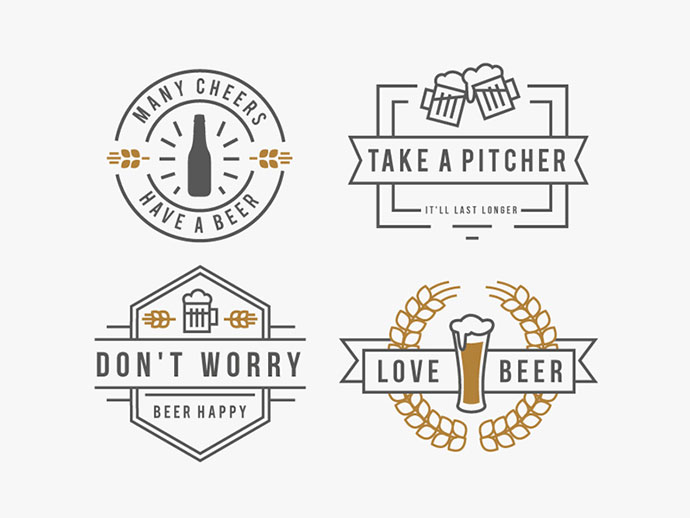 Beer Badges by Mary-Anne Ramirez