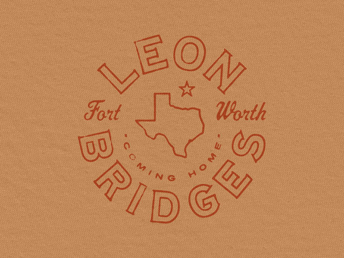 Leon Bridges Texas Seal by Brandon Rike
