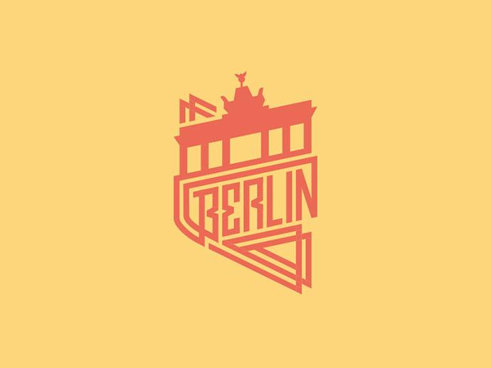 Berlin Badge by Jonas