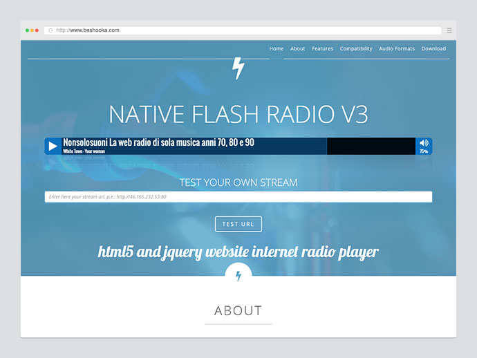 Native Flash Radio