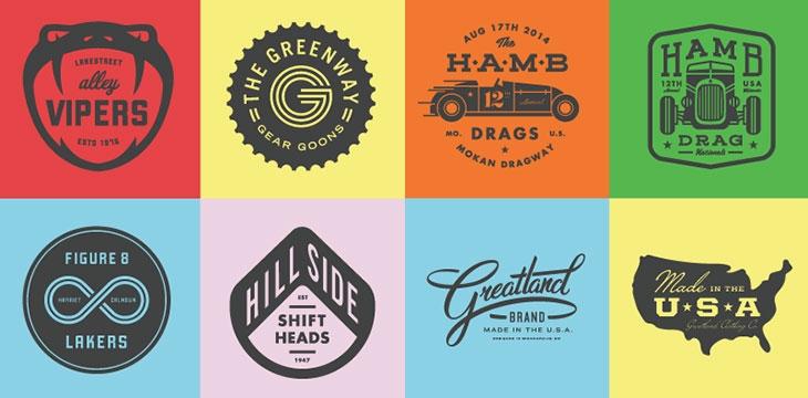 40 Excellent Typographic Logo Badge Designs