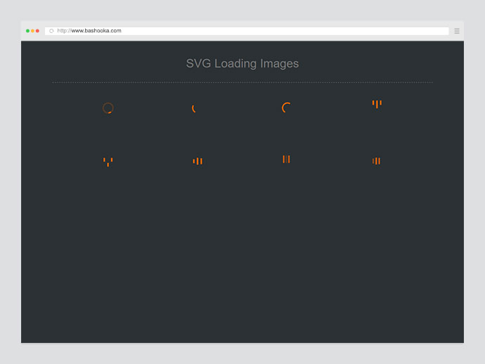 SVG Loading Images