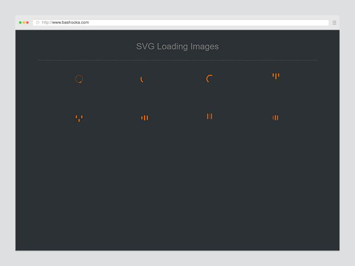 SVG Loading Images