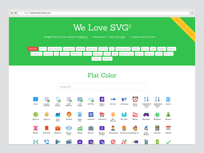 We Love SVG