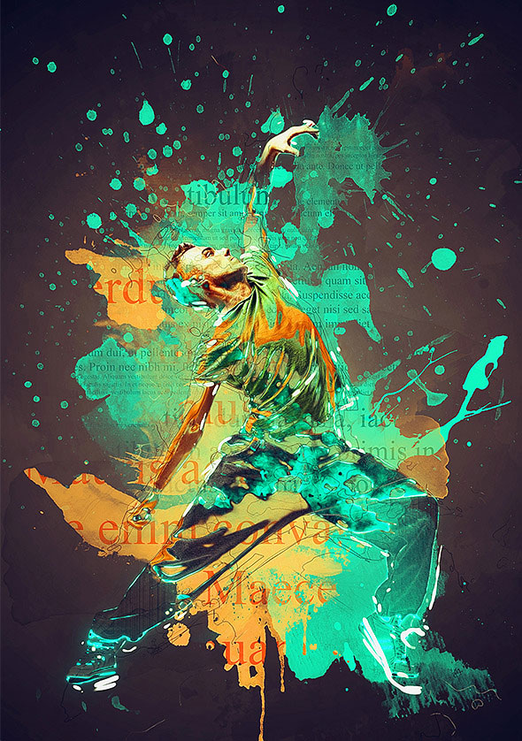 25 Exquisite Abstract Photoshop Actions | Web & Graphic ...