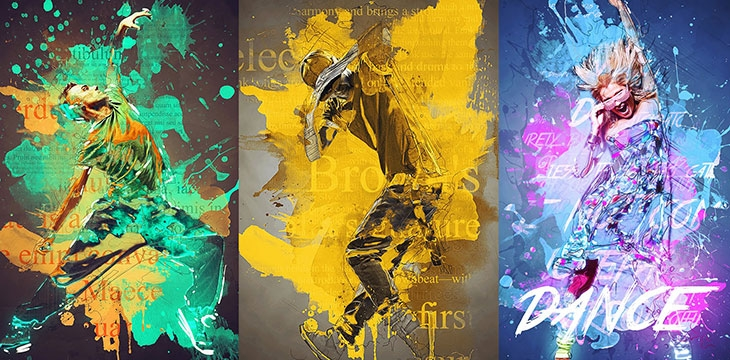 25 Exquisite Abstract Photoshop Actions