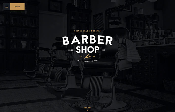 Salon | Barbershop & Tatoo WordPress Theme