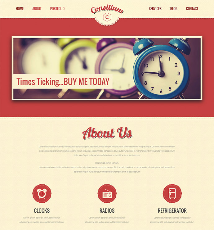 21 Wordpress Themes That Totally Define Retro Cool | Web & Graphic ...