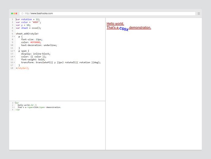 Finally, CSS In JavaScript! Meet CSSX