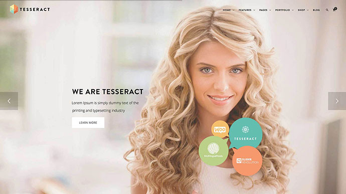 Tesseract Multi-Purpose WordPress Theme