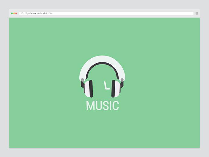 Animated SVG Headphones