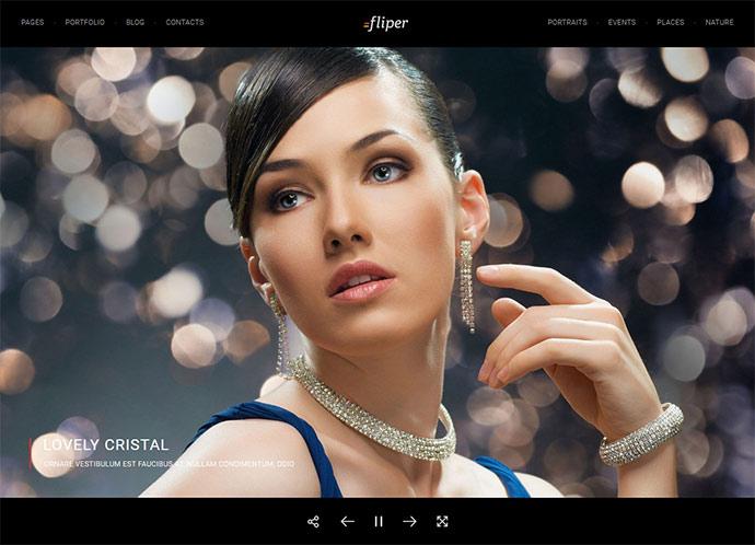 Photo Fullscreen WordPress Theme