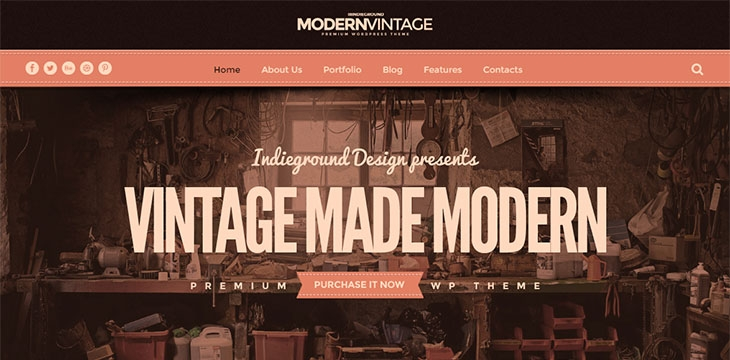 21 WordPress Themes That Totally Define Retro Cool
