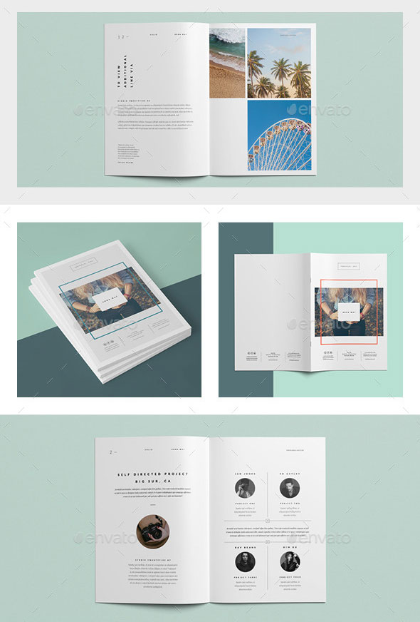 Really Awesome Portfolio Brochure Templates Web Graphic - Portfolio brochure template