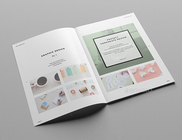25 really awesome portfolio brochure templates web graphic