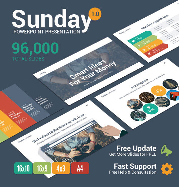 Sunday - Multipurpose PowerPoint Template