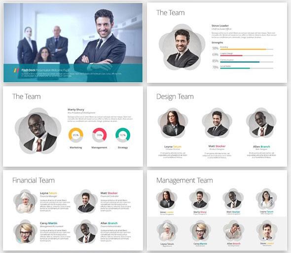 Startup Pitch Deck PowerPoint