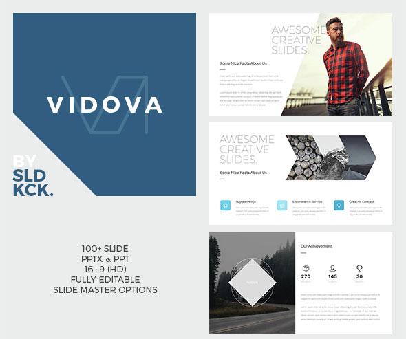 VIDOVA - Modern Powerpoint Presentation