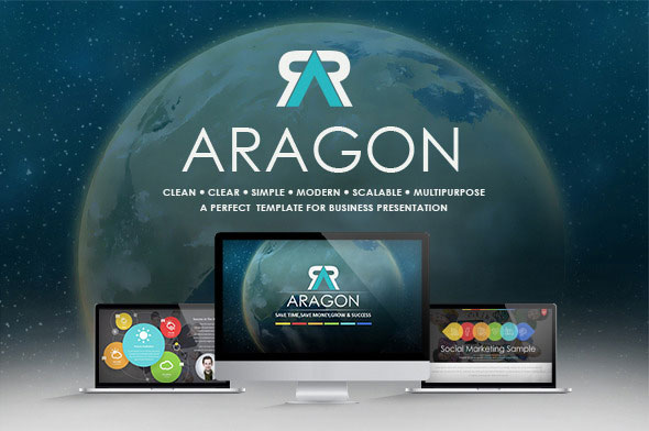 Aragon 3.0 - Multipurpose Powerpoint Template - Modern Presentation