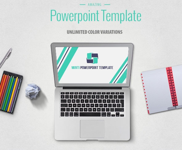 Minti Multipurpose Powerpoint Presentation