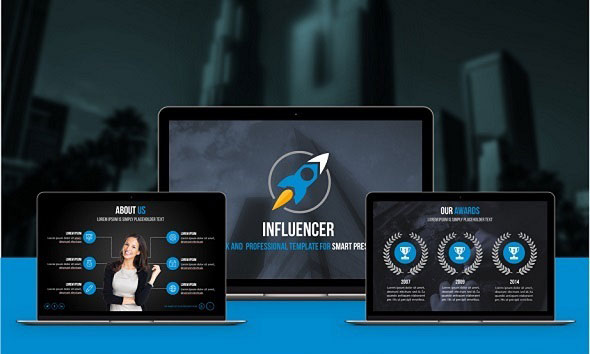 Influencer PowerPoint Presentation Template