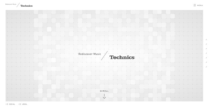 Technics Global Site