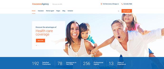 Insurance Agency - Business WordPress Theme