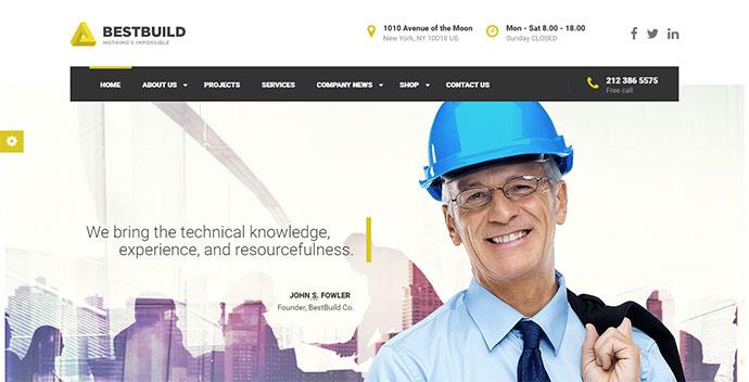 BestBuild | Construction & Building WP Theme