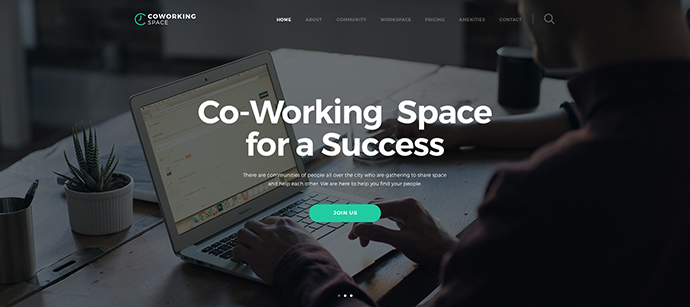Coworking - Open Office & Creative Space WP Theme