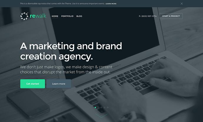 ReWalk - Business WordPress Theme