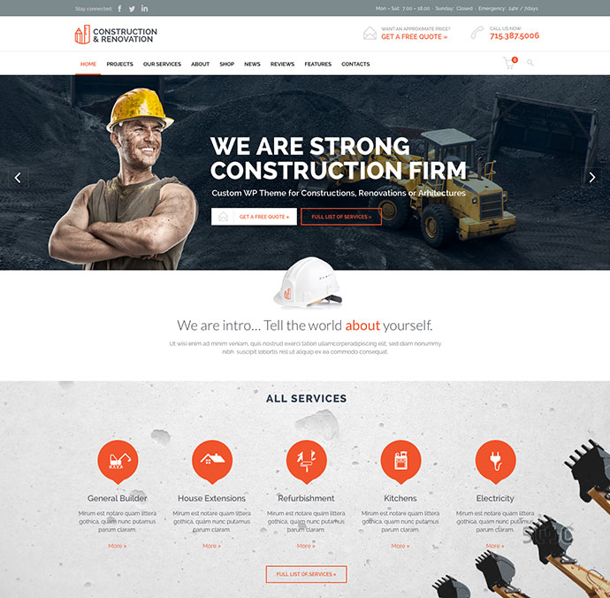 Constructon - Construction Building Company