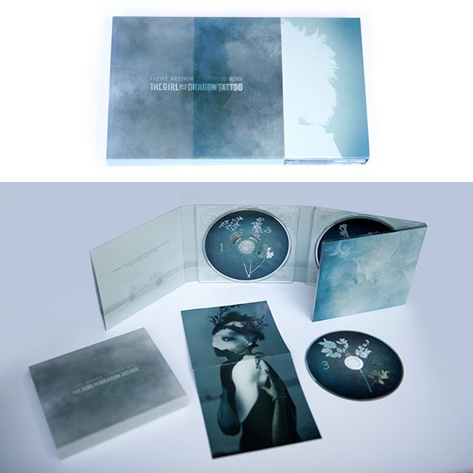 The Girl With The Dragon Tattoo Soundtrack Packaging