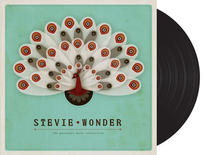 LP Cover : Stevie Wonder