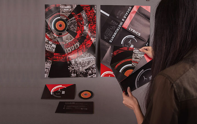 Fold Poster CD Package
