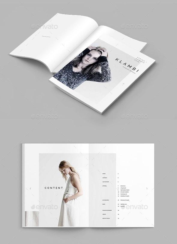 20 gorgeous indesign lookbook template designs