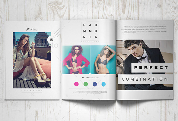 20 gorgeous indesign lookbook template designs web graphic