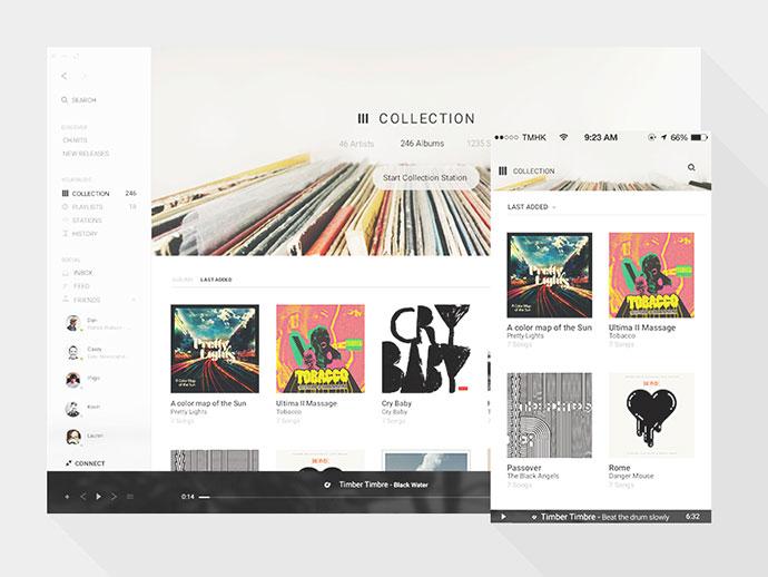 Tomahawk Collection view by Jordi Verdu